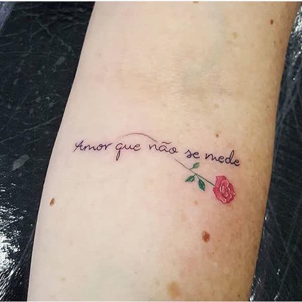 Tatuagem Feminina Com Frases De Amor Lamaran H
